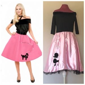 Pink Poodle 🐩 Skirt Dress